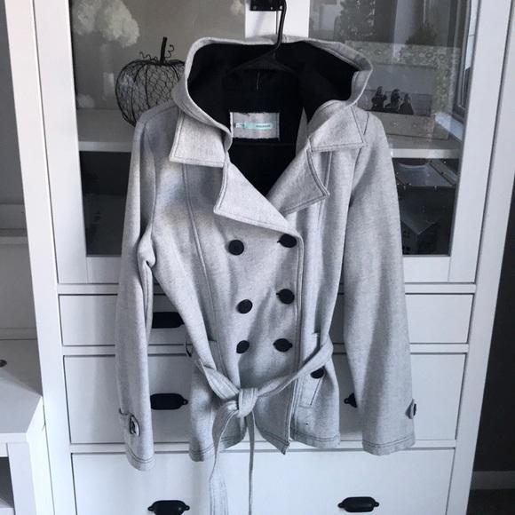Maurices fleece trench coat